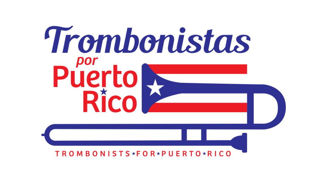 Trombonistas por Puerto Rico logo designed by RobertMottDesigns.com