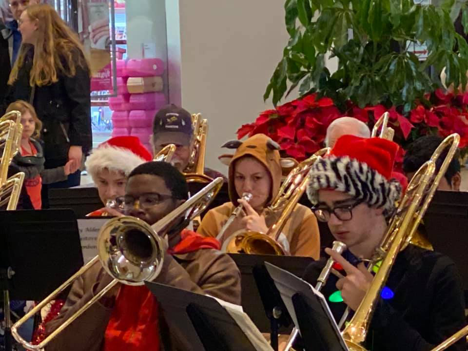 Trombone Christmas, Harrisonburg, VA 2019