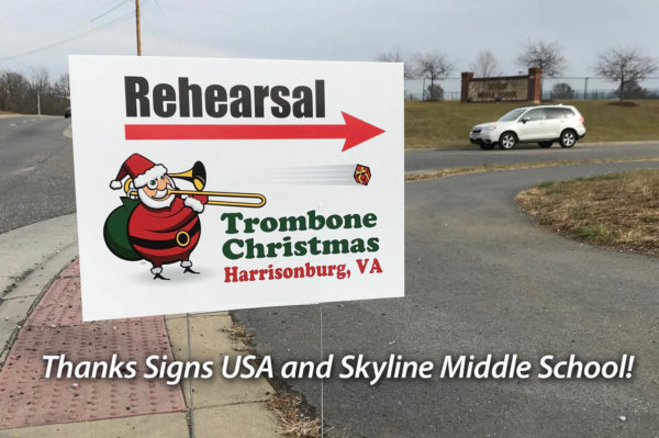Thanks to Signs USA and Skyline Meddle School fro rehearsal space